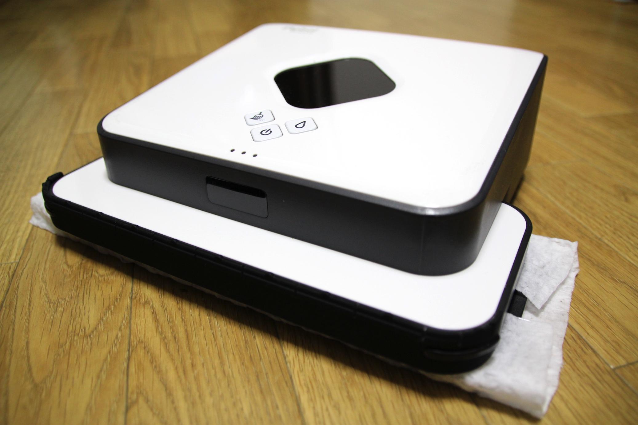 床拭きロボット『ブラーバ380j』を試す(クイックルワイパー編)