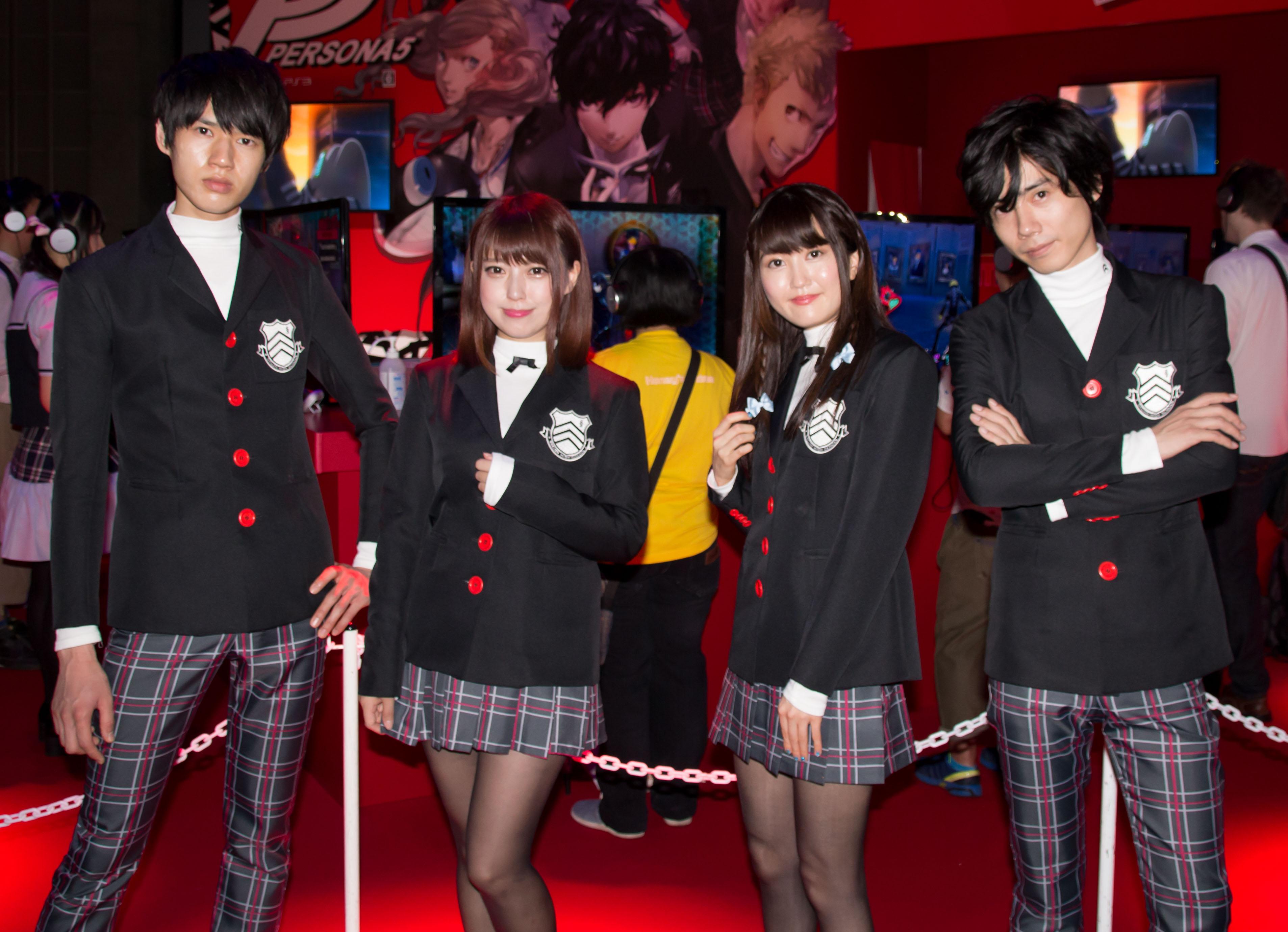 東京ゲームショウ2016 コンパニオンさん写真まとめ(セガゲームス) #TGS2016