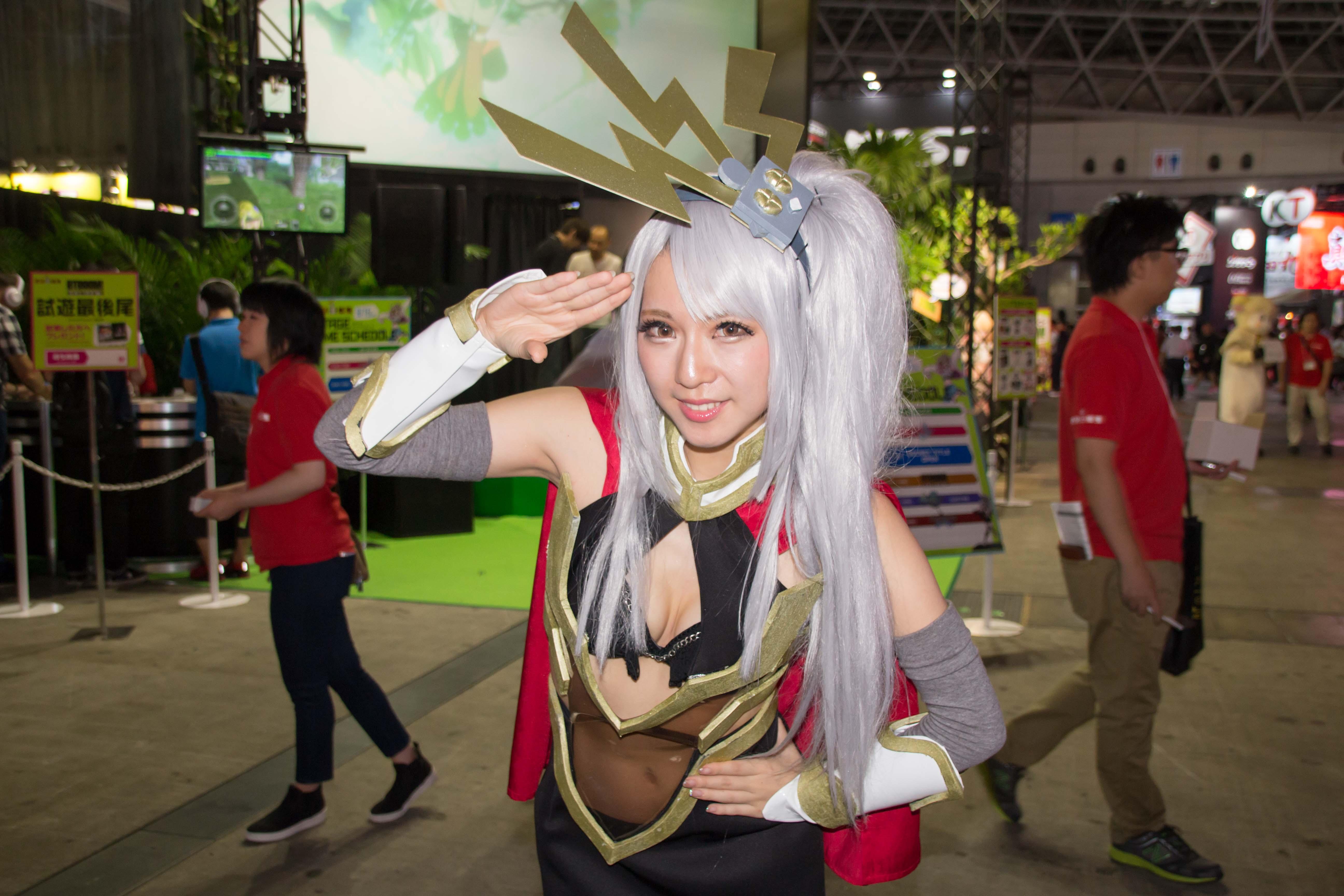 東京ゲームショウ2016 コンパニオンさん写真まとめ(アソビモ、ファンクルー、2K、msi) #TGS2016