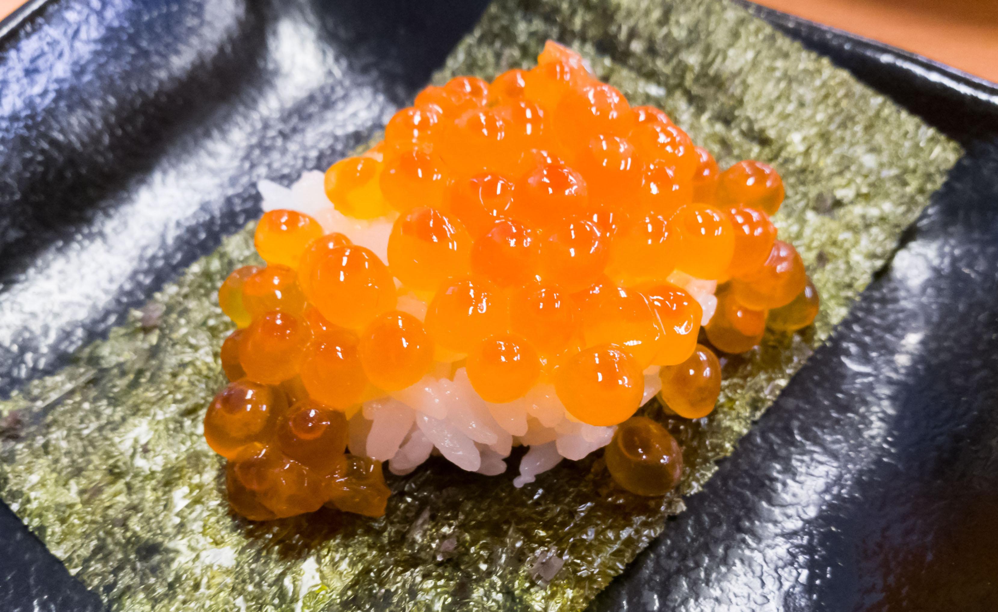 HUAWEI P9でスシローの寿司を撮ってみた