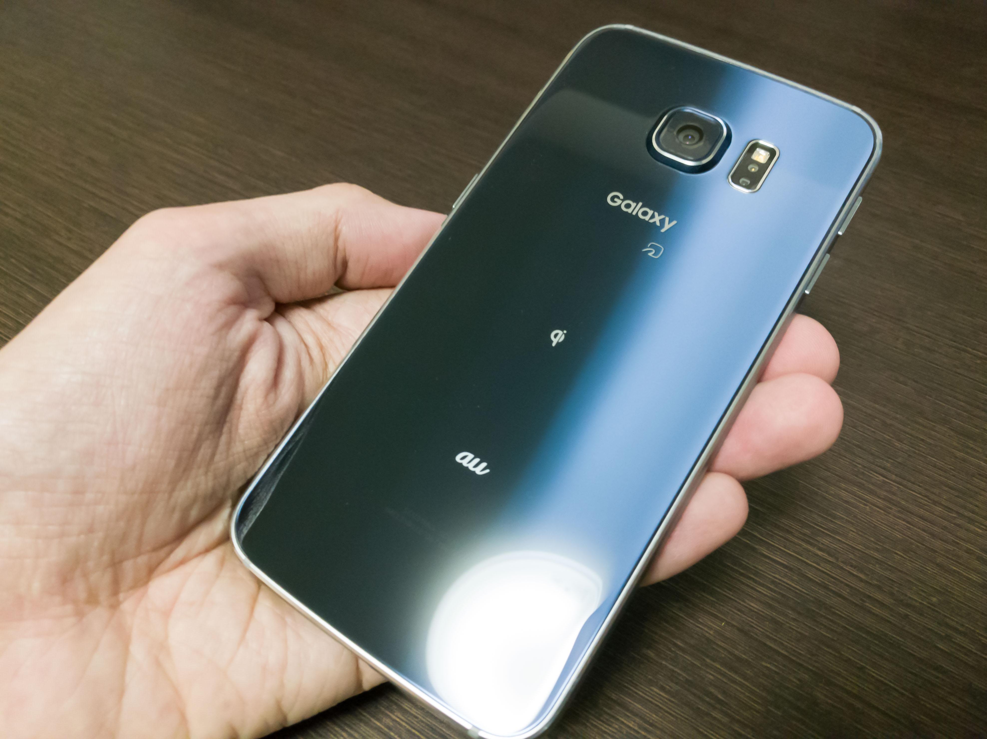 Galaxy S6 edge ブラックサファイアを買いました