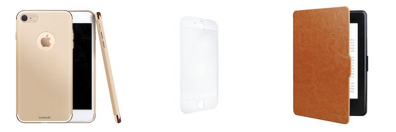 Inateck年末キャンペーン第一弾。iPhone 7、Kindle Paperwhite保護ケースがセール価格に