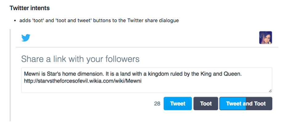 Chrome拡張機能「Tooter」を使ってMastodonとTwitterに同時投稿する
