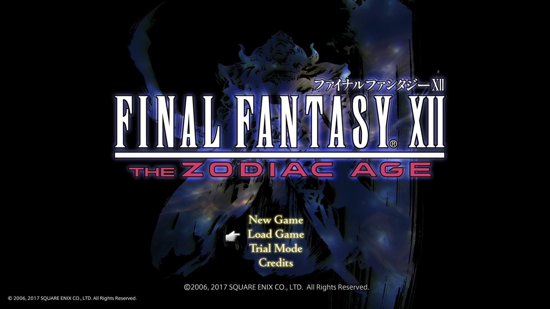 FFXII THE ZODIAC AGE発売。10年経っても色褪せない名作を再び