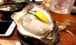 渋谷『牡蠣貝鮮かいり』の牡蠣がデカ過ぎて笑った。もうこれ1個で良いでしょ