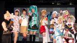 FFキャラや初音ミクなどコスプレイヤー勢揃い!東京ゲームショウ2017 Xperiaステージイベント #TGS2017