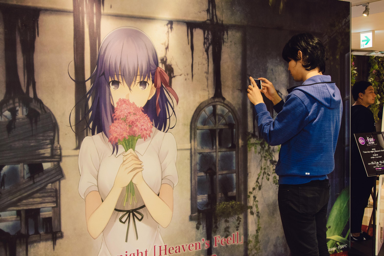 劇場版「Fate/stay night [Heaven's Feel]」× PARCO コラボストアOPEN!セイバーオルタのドレスや複製原画展示のほか限定グッズも200点以上