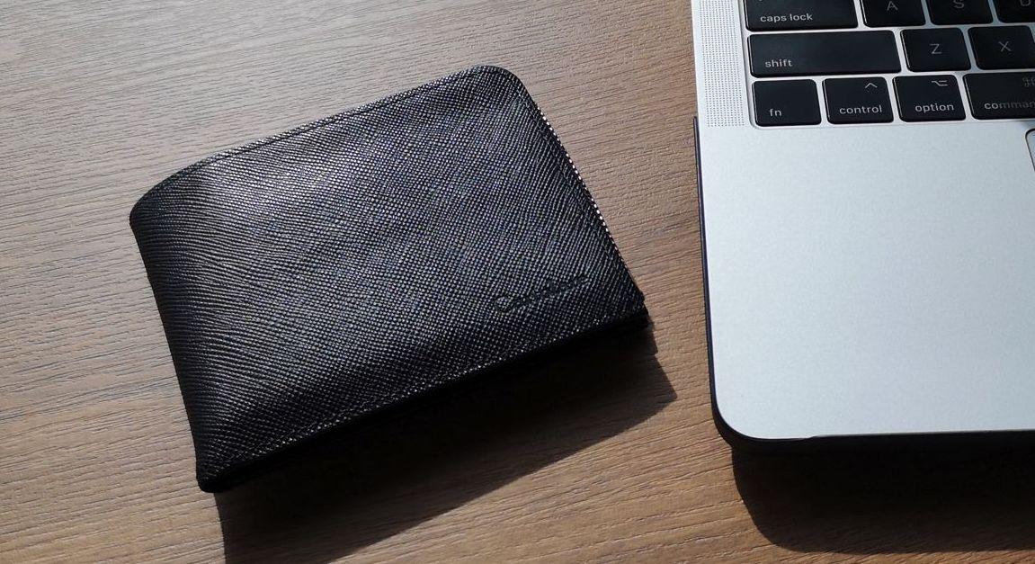 電子マネー時代に最適。コンパクトな二つ折り財布「ジャミーウォレット」レビュー