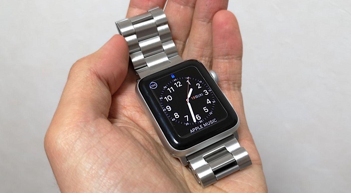 SUNDAREEのApple Watch用ステンレスバンドを買ってみた
