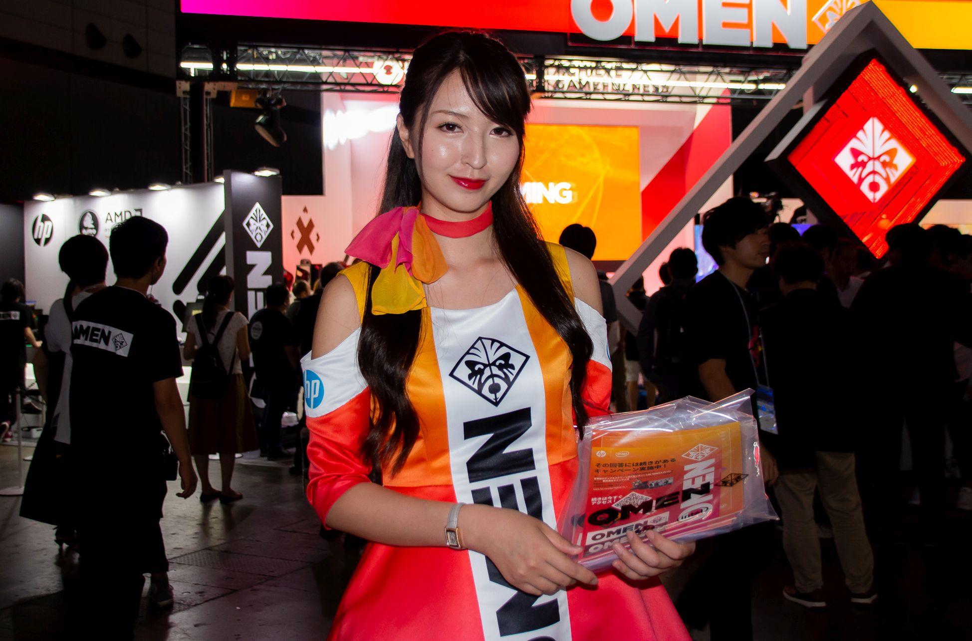 東京ゲームショウ2019 コンパニオンさん写真まとめ(日本HP) #TGS2019