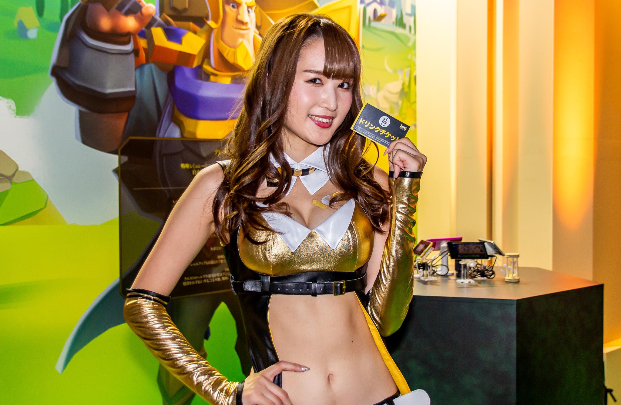 東京ゲームショウ2019 コンパニオンさん写真まとめ(KONAMI、IGG) #TGS2019