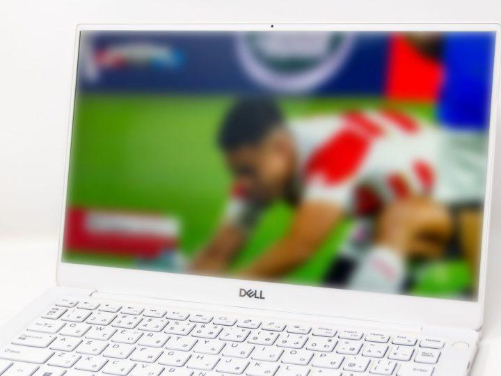 話題の試合もすぐ追える『Dell XPS 13』でDAZNのラグビー観戦をしてみた