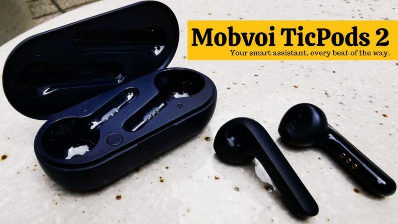 デザイン良し。バランスのとれた完全ワイヤレスイヤホン「Mobvoi TicPods 2」レビュー
